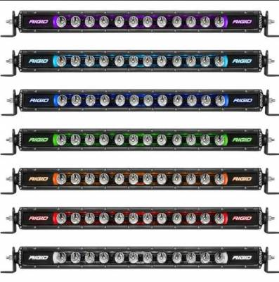 """Rigid Industries - Radiance Plus SR Series 40"""" 8 Option RGBW Backlight - Image 5"""