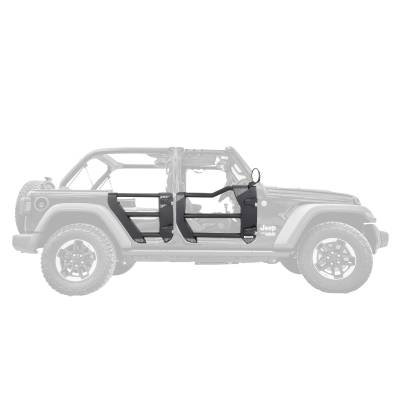 Go Rhino - Puertas Tubulares Traseras Trailline Jeep Wrangler JK 07-18 - Image 2