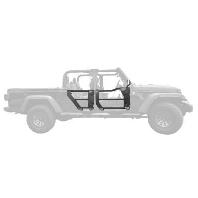 Go Rhino - Puertas Tubulares Traseras TraillineJeep Wrangler JL / Gladiador 18-21 - Image 4