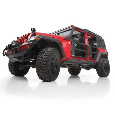 Go Rhino - Puertas Tubulares Traseras TraillineJeep Wrangler JL / Gladiador 18-21 - Image 2