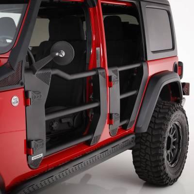 Go Rhino - Puertas TubularesDelanteras Trailline Jeep Wrangler JL / Gladiador  18-21 - Image 1