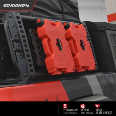 Go Rhino - XRS Xtreme Bed Rack - Gear Plate - Image 8