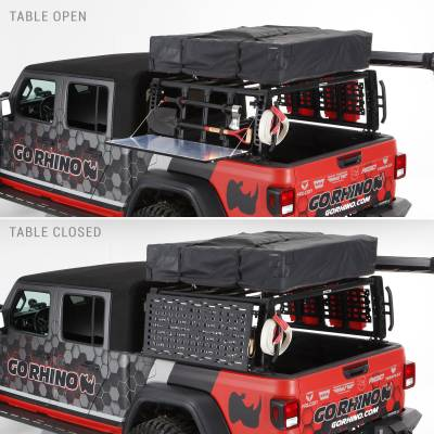 Go Rhino - XRS Xtreme Bed Rack - Gear Table - Image 4