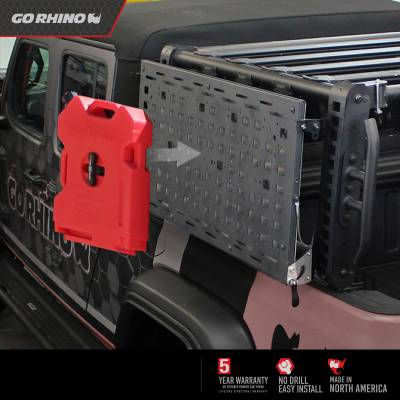 Go Rhino - XRS Xtreme Bed Rack - Gear Table - Image 7