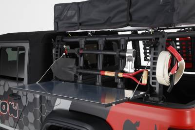 Go Rhino - XRS Xtreme Bed Rack - Gear Table - Image 9