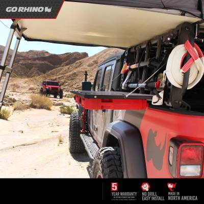 Go Rhino - XRS Xtreme Bed Rack - Reel Handle Kit ( Par) - Image 7