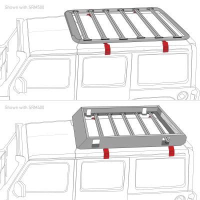 Go Rhino - Kit de Montaje SRM 4 Brackets Jimny 2021 (Vierte Aguas) - Image 4