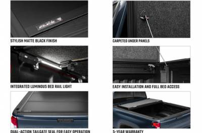Undercover - Tapa plegable Ultra Flex para Amarok 10-21 5.0' - Image 5